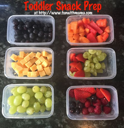 Toddler snack preparation when you are on the go with kids to keep them from becoming irritable and hungry.