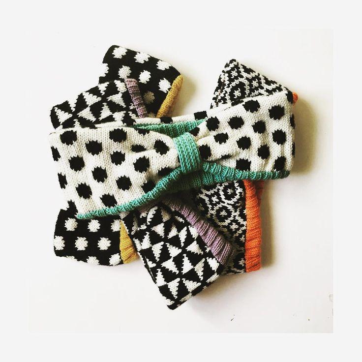 Turban knitted Headbands from  theknitpanda
