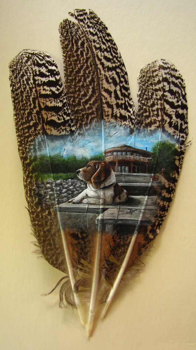 17 best images about painting on feathers on pinterest for Painting feathers on canvas