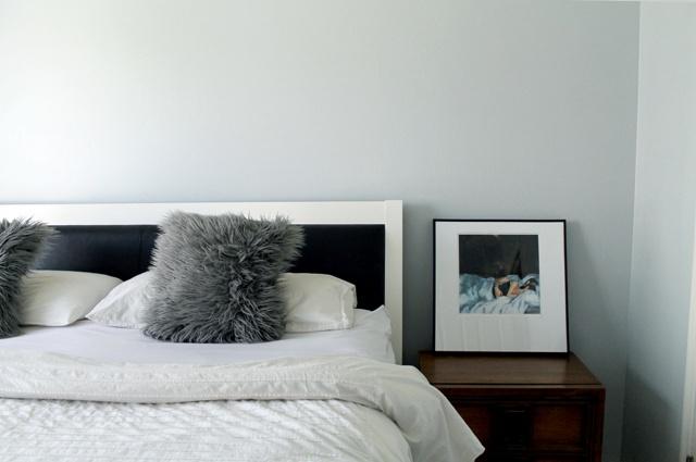 Farrow & Ball's Skylight--a sophisticated light blue with gray undertones