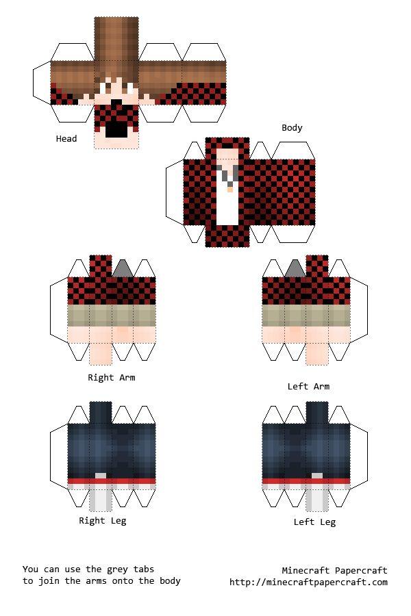Pixel Papercraft