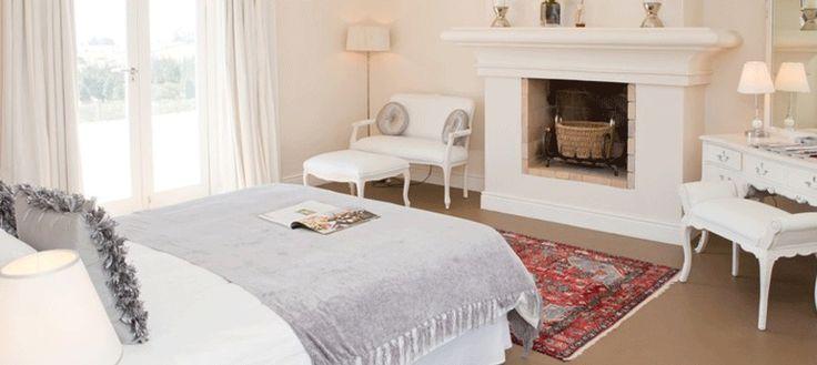 www.sunsafaris.com #Hawksmoor #House #bedroom #stellenbosch #cape #winelands