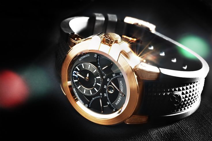 Harry Winston Triple Chronograph Rose Gold