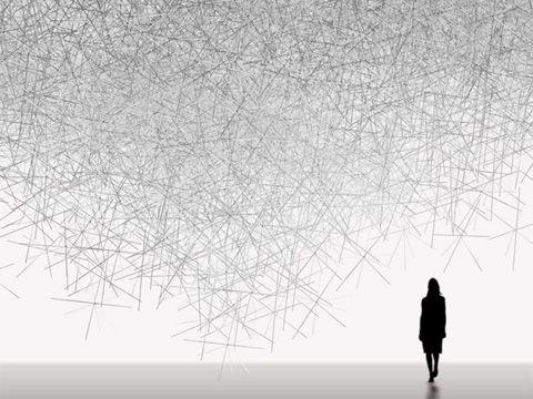 Kartell Gallery. Snowflake by Tokujin Yoshioka #art  #photography