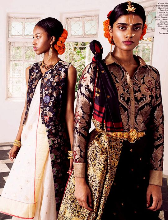 """""""Poetry in Motion // Archana Akil Kumar & Sydney Nelson for Harper's Bazaar Bride India April 2016 photography"""