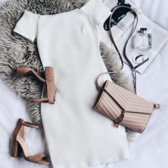 Sorority white dress STYLE