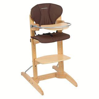 Top Produits Bébé: Fan de la chaise haute Woodline de BEBE CONFORT !
