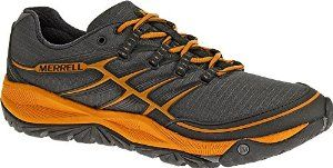 Merrell Men's All Out Rush Trail Running Shoe,Granite/Tanga,10.5 M US -   - http://sportschasing.com/sports-outdoors/exercise-fitness/running/merrell-men39s-all-out-rush-trail-running-shoegranitetanga105-m-us-com/