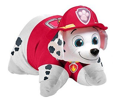 Pillow Pets  Paw Patrol - Marshall Stuffed Animal Plush Toy