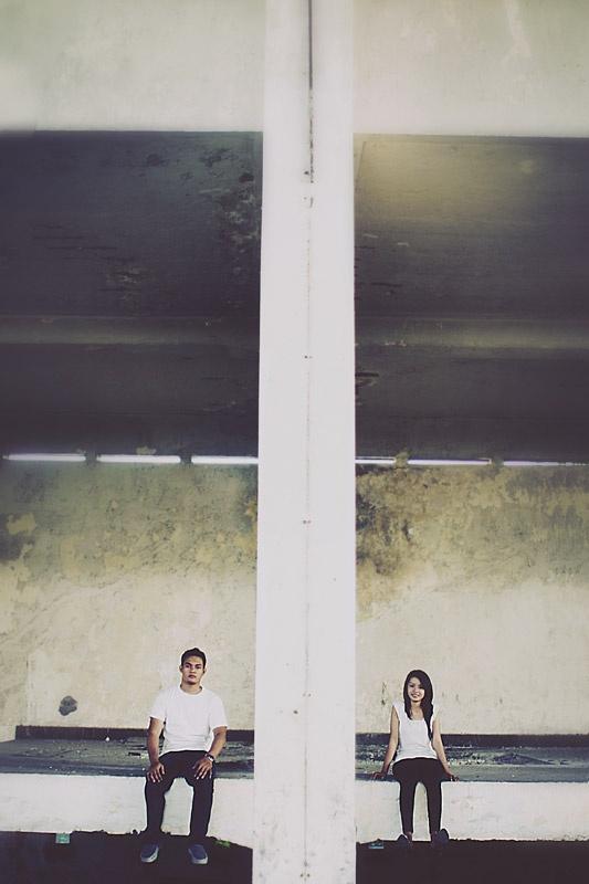 Iix & Indo prewedding photo, by Polaris Photography.
