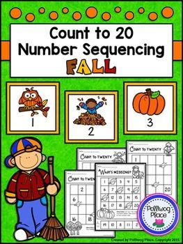 jordans size 13 wide Count to 20 Number Sequencing Activity  Fall