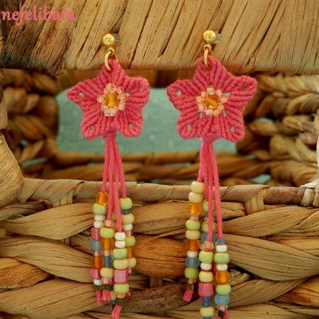 Flower Child Earrings ° boho ° boho chic ° boheme ° hippies ° gypsy ° ethno ° jewelry ° freedom ° joy ° handmade