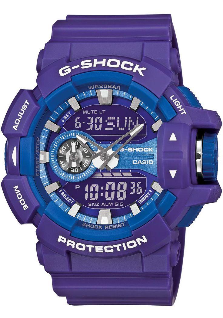 G-Shock GA-400 Series Worldtime -Purple
