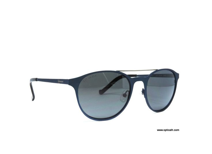 Sunglasses by the brand HACKETT Unisex, model HACKETT 847 60P 53 19, with a(n) Modern style.They have a(n) Full Rim frame made of Metal with a(n) Round and Oval shape in Blue colour. Their size is 53mm and their bridge width is 19mm, with a total frame width of 72mm. They have Organic, Gray, PolarizedUniform lenses. These glasses are suitable for prescription lenses. These are top of the range glasses, made of high-quality materials, modern glasses that will give you a look that matches…