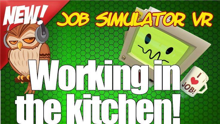 Job Simulator VR chef