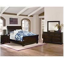 Brooklyn Sleigh Bedroom Set - King - 4 pc.