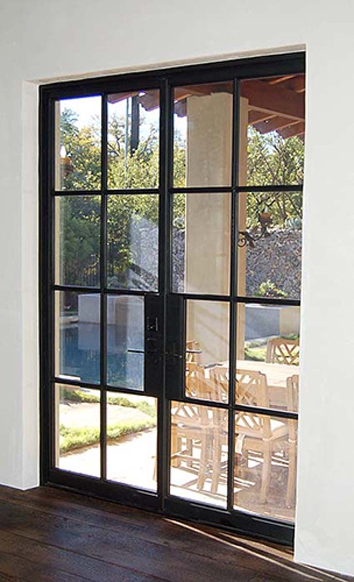 French Exterior Doors Steel: Rehme Steel Doors - Source In Austin