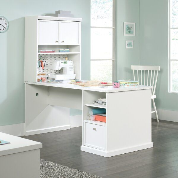 Charlton Home Westlake Craft Table Wayfair Craft Table Sewing Room Design Craft Room Office