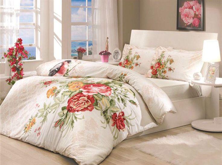 Yatak odalarınıza baharı taşıyan Soley çift kişilik nevresim takımları sadece 94.90 TL! #DekorazonCom >> http://www.dekorazon.com/soley-kampanyasi-kategorisi-1121?utm_source=pinterest&utm_medium=post&utm_campaign=Soley