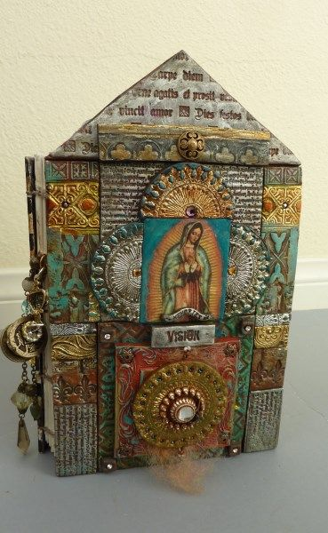 Sacred Tomes - A Collaborative Workshop - Art Is...You - Your Mixed Media Art Retreats