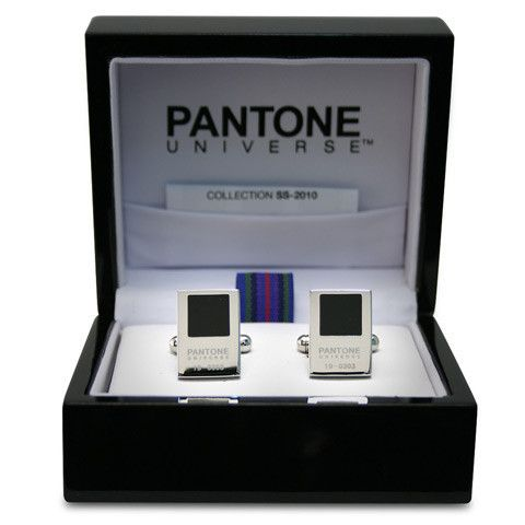 Pantone Chip Cufflinks