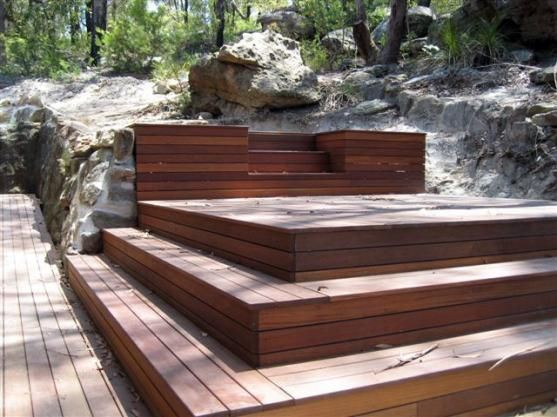 Timber Decking Ideas by Sullivan Carpentry