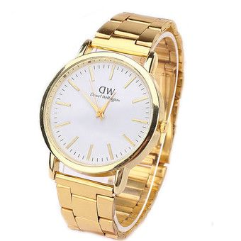ST Latest Fashion Gold Women Wristwatches (Intl)