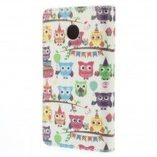 Forro Book Huawei Ascend Y330 Design Animales Buho 31 $ 20.300,00