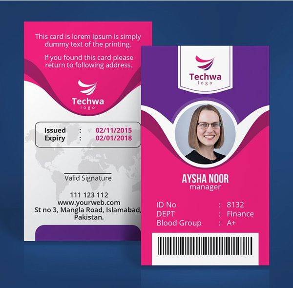 Professional Office Id Card Design Business Cards Creative Templates Photography Business Cards Template Fresh Business Cards