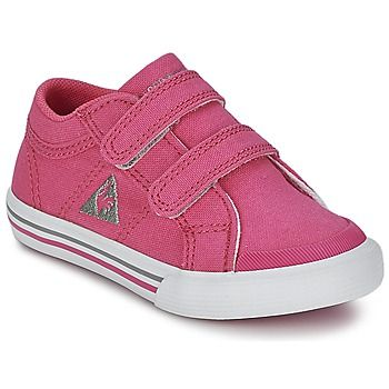 Baskets+basses+Le+Coq+Sportif+SAINT+GAETAN+INF+CVS+Rose+34.99+€