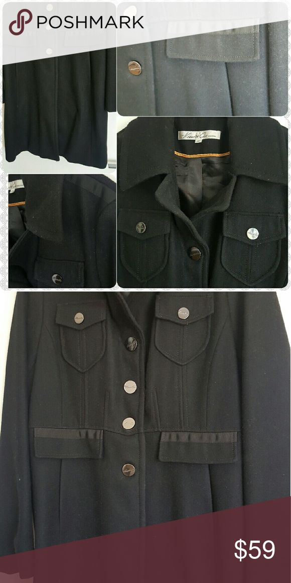 Kenneth Cole wool military style coat Kenneth Cole wool military style coat Kenneth Cole Jackets & Coats Trench Coats