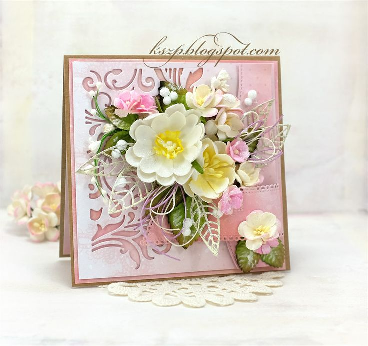 Hi everybody :)   I hope everyone is having a nice day. Today, I would like to share with you my another card. I prepared it using a kraft ...