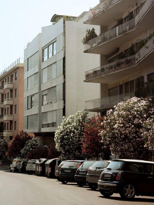 """Casa """"Il Girasole"""" / Luigi Moretti -"""