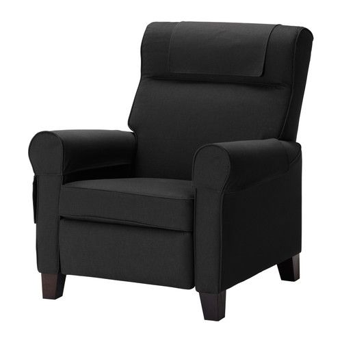 EKTORP MUREN Chair - Idemo black - IKEA $299 >> I think a trip to IKEA is in order! Wonder if this is comfy?