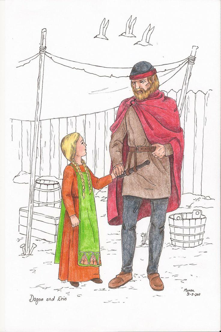 Dagon and Erin from the book, SIRION by Ivano Massari. http://www.gypsyshadow.com/IvanoMassari.html#top