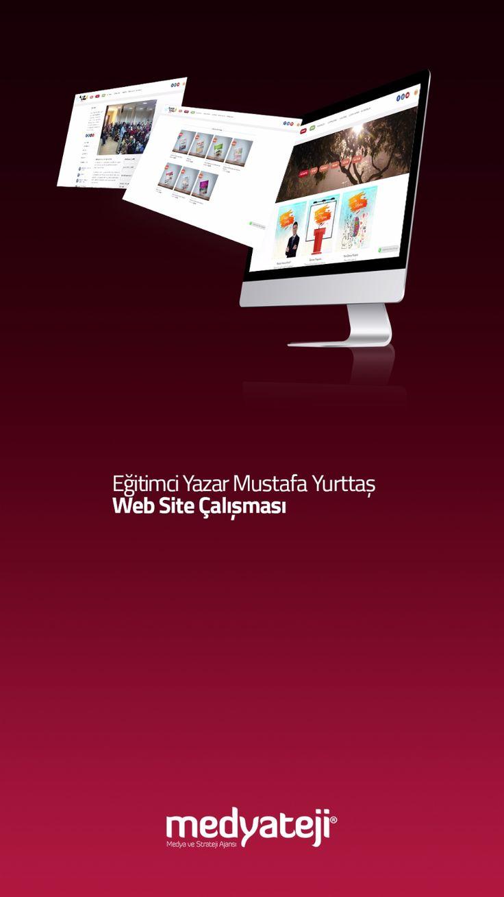 Eğitimci Yazar Mustafa Yurttaş'ın web sitesi yenilendi. Online kitap satışı, kredi kartı entegrasyonu ve pek çok yenilik ile hem akademik faaliyetler hem de e-ticaret çalışmaları iç içe.. Bkz: www.mustafayurttas.com Ajns: www.medyateji.com #website #tasarım #yazılım