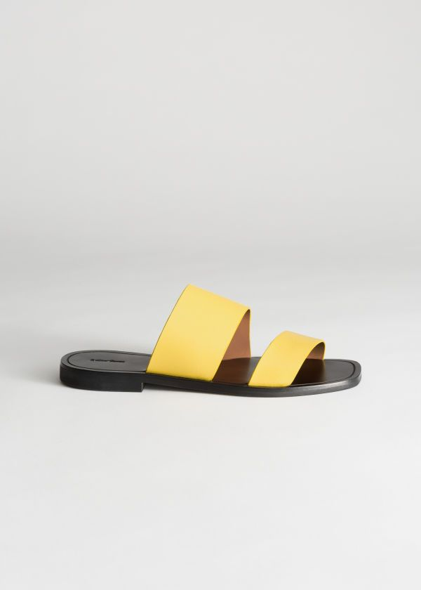Duo Strap Leather Sandals | & Other Stories #andotherstories
