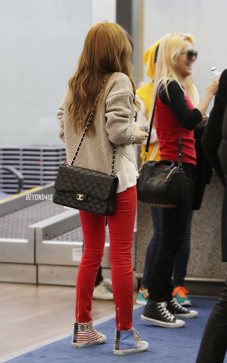 Jessica Jung 39 S Airport Fashion Airport Fashion Pinterest Posts Cas And Airport Fashion