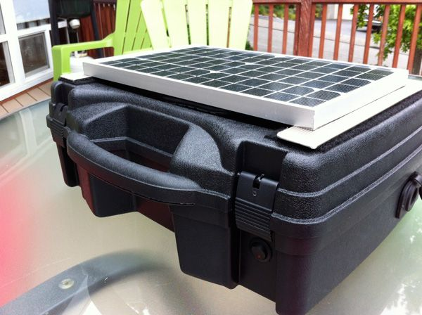 Build a high quality PORTABLE Solar Generator for $150 (vs $400 pre-made).