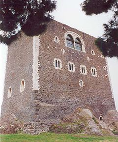 """The Castello Normanno (""""Norman Castle"""") is a castle in Paternò, Sicily, southern Italy."""