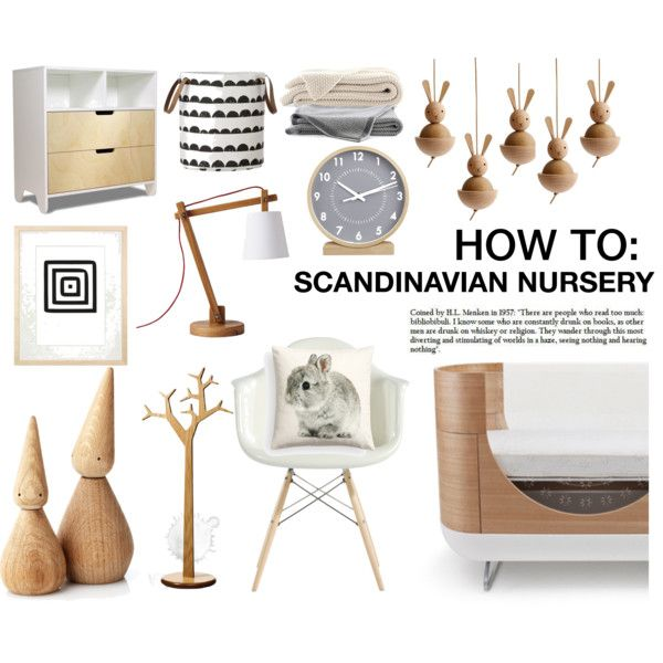 Scandinavian Baby Nursery: HOW TO: SCANDINAVIAN NURSERY
