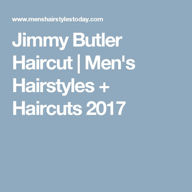 Jimmy Butler Haircut | Men's Hairstyles + Haircuts 2017