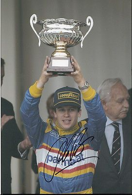 #Olivier #panis hand signed ligier gauloises #blondes photo 12x8 2., View more on the LINK: www.zeppy.io/...