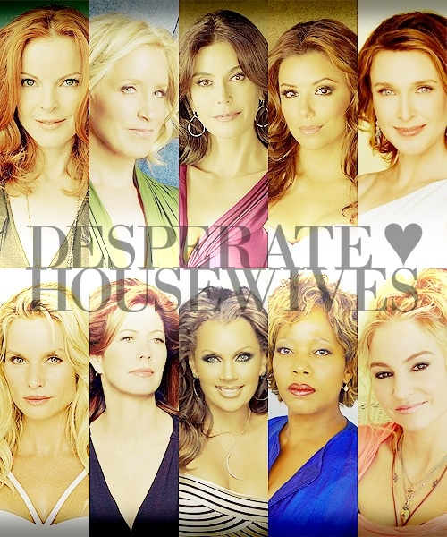 Desperate Housewives-Love, love, LOVED this series watched all seasons two times the through... figured wait another year or so and I'll watch it a third time through!
