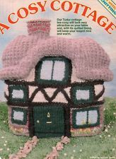 Vintage Cosy Cottage Tea Cosy knitting pattern in Chunky for sale in my eBay shop dollie.daydreams
