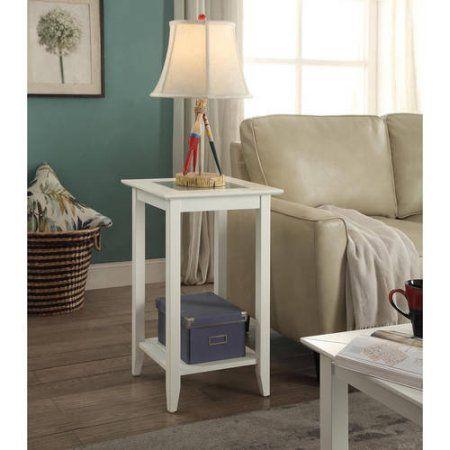 Convenience Concepts Carmel Tall End Table, Multiple Colors - Walmart.com