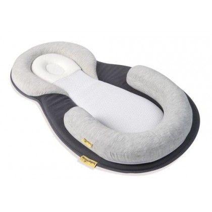 A complete sleep-positioner for perfect support! From birth to 6 months Designed with healthcare professionals' recommendations to ensure optimal safety for baby when he's lying on his back. It guarantees a perfect position to make sure baby breathes better, his nose and mouth aren't obstructed to prevent the risk of suffocation.