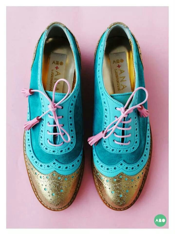 ABO + Ana Ljubinkovic brogues #abo #shoes #brogues #ana_ljubinkovic #oxfords