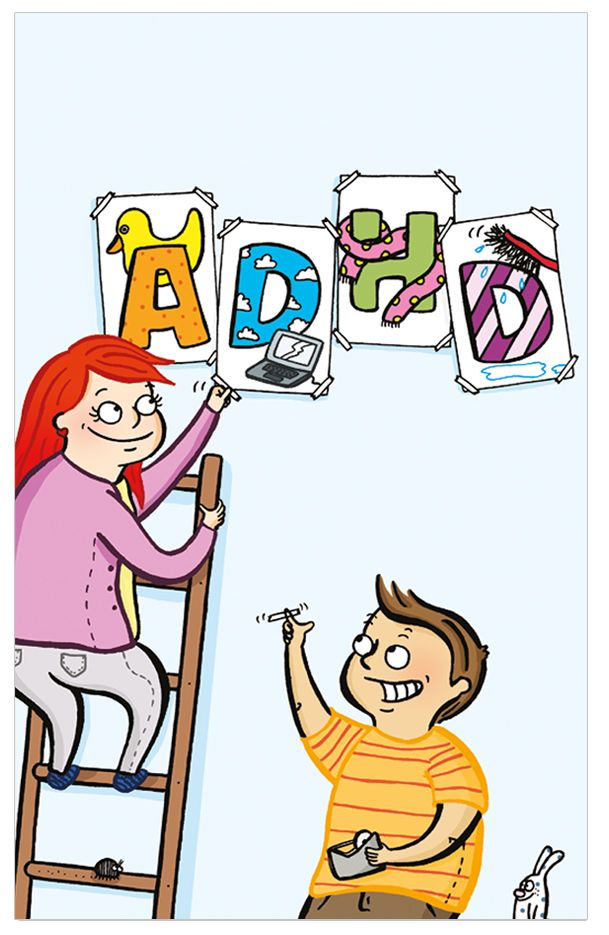 Om ADHD för barn - finns som pdf eller som broschyr att beställa. Även Asperger och Tourette broschyrer.