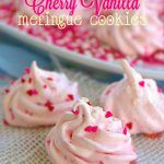Cherry Vanilla Meringue Cookies, light and airy cookies with a classic flavor combo, studded with maraschino cherries! I hope you are ready for the last recipe in the Valentine's Day series! When I was younger, one of my favorite flavors of ice cream was cherry vanilla. I love taking traditional flavors and recipes and giving …